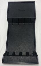New listing Cutco Black Plastic Knife Holder for Steak Knives 10� Excellent Holder Only