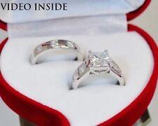 Echte Diamanten-Ringe mit Prinzess für Damen