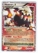 POKEMON • Heatran Lv.X HOLO • DP31 PROMO 31