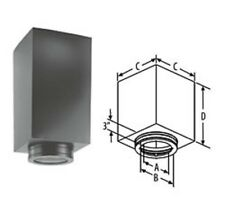 9436B Reduced Clearance Square Ceiling Support Box DuraTech Chimney