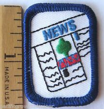 Girl Scout Senior DESKTOP PUBLISHING BADGE Interest Project Patch News Print IP