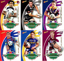 2012 Select NRL One Game-One Community Card Set (6)