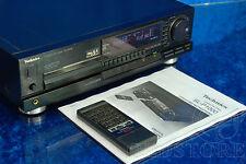 ►TECHNICS SL P1000◄LETTORE CD PLAYER +TELECOMANDO VINTAGE MAGNETICO 1988 MANUALE