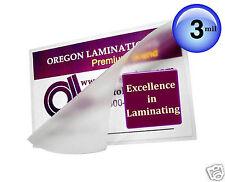 200 Hot 3 Mil Laminating Supplies for 11x17 Menus 11-1/2 x 17-1/2 Clear