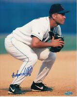 Edgardo Alfonzo autographed signed autograph New York Mets 8x10 photo Steiner