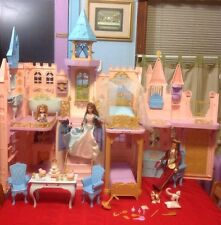 "Barbie And The Pauper Musical Palace Castle Playset - 3 Feet Tall X 45"" Wide"