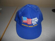 "OPERATION DESERT STORM HAT "" THESE COLORS DON'T RUN """