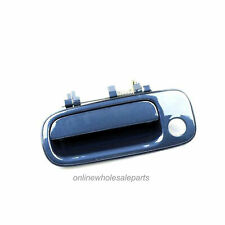 I-Match Auto Parts Left Driver Side Front Outer Door Handle Replacement For 1992-1996 Toyota Camry 6922033011C1 TO1310109