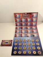 MONTREAL CANADIENS OFFICIALLY LICENSED MEDALLION COLLECTION SET NHL 2008-2009