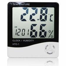 Digital LCD Indoor/ Outdoor Thermometer Hygrometer Temperature Humidity Meter GA