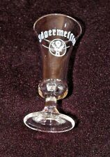 Fluted Stem Shot Glass  -  Jagermeister
