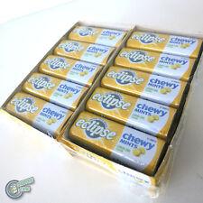 20x 27pcs Eclipse Chewy Mint Lemon Lime Yellow Metal Tin Box Wrigley's Wrigley