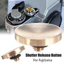 Brass Shutter Release Button For Fuji FujiFilm X100F