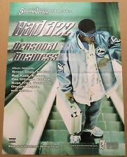 Snoop Dogg BAD AZZ Rare 2001 PROMO POSTER for Personal CD 18x24 NEVER DISPLAYEDA