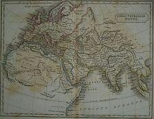 Authentic Vintage 1844 Historical Map ~ Orbis Veteribus Notus - Ancient World