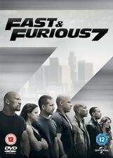 Fast & Furious 7 DVD 2015 VIN Diesel Paul Walker Dwayne Johnson