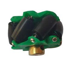 Omni Wheel Mecanum Wheels mit Kupplung ausgestattet mit 3/4/5/6/7mm Grün
