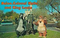 Disneyland - Anaheim  California Baloo Colonel Hathi and King Louie 04.12