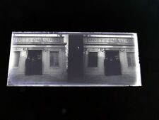 STEREOSCOPE NEGATIF / FRANCO BRITISH EXHIBITION LONDON 1908 STAND MOET & CHANDON