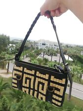 Givenchy Vintage Bag Leather And Straw