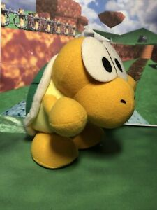 Super Mario 64 Doll Plush Koopa The Quick Nintendo Banpresto 1996 Rare Japan