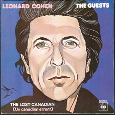 LEONARD COHEN THE GUESTS 45T SP CBS 7938