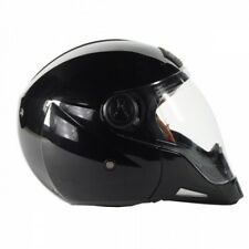 STEALTH  HD190 GLOSS BLACK TRANSFORMER FULL/ OPEN FACE MOTORCYCLE HELMET SIZE M