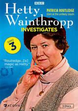HETTY WAINTHROPP INVESTIGATES THE COMPLETE SERIES/SEASON THREE  3 DISC DVD SET
