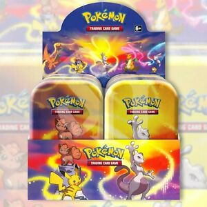 Pokemon TCG: KANTO POWER 10 Mini Tin Display Case Box | FACTORY SEALED Charizard