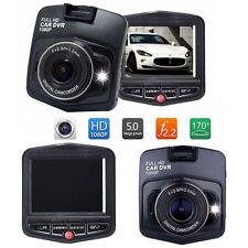 "Car Dash Cam Night Vision 1080P Full HD DVR 2.4"" GT300 G-sensor Video Recorder"