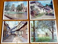 EXTRA LARGE JIGSAW PUZZLE PICTURES OF VINTAGE SIXTIES UNITED KINGDOM - THICK SET