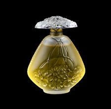 Lalique France Perfume Bottle Aux Jasmins (Jasmine) 2oz Ltd Ed, 1995. Sealed