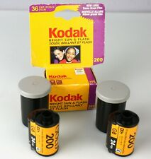 (Lot of 3) Kodak Gold 200 35mm 24exp & Kodak Bright Sun & Flash 36exp