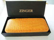 Manicure Pedicure Set Nail Cuticle Grooming Kit Case Zinger 8 Pcs