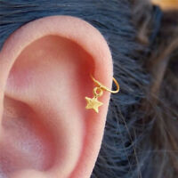 Fashion Star Cartilage Helix Earring Piercing Nose Ring Body Piercing Jewelry PY