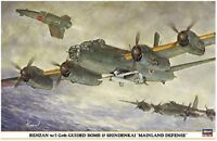 Hasegawa 1/72 Renzan w/I-gou Guided Bomb&Shiden Kai Mainland Defense Model Kit.