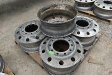 5 Used Aluminum Wheels For Semi Truck