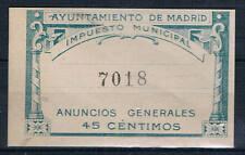 MADRID.45 CTS VERDE.NO CATALOGADO