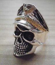 """Ring """" Military Skull """" Men's Ring Skull"""
