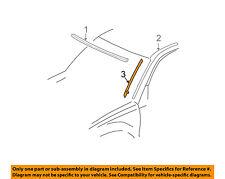 TOYOTA OEM 01-05 RAV4 Windshield-Reveal Molding Fastener Left 7554942011