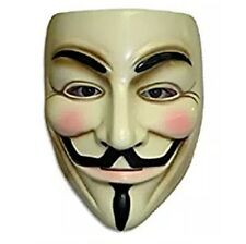 V for Vendetta Guy Fawkes Anonymous USA Occupy Halloween Mask Costume Accessory