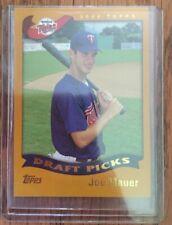 2002 Topps Joe Mauer ROOKIE RC #622 GEM MINT