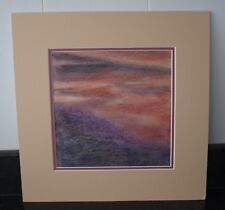 Pastel Drawing Stormy Sky by Clark Gibson - Art Work