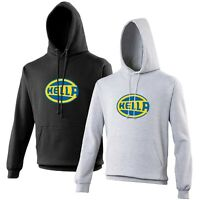 Hella Hoodie Classic Motor Racing Car Enthusiast VARIOUS SIZES & COLOURS
