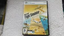 MICROSOFT FLIGHT SIMULATOR X Deluxe FSX PC-DVD Fast Post (Brand new & sealed)