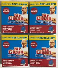 Mr. Clean Magic Eraser Handy Grip Refill Pads (8 Pads Total) 4 Boxes