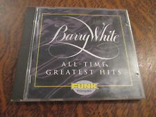 cd album barry white all-time greatest hits