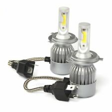 KIT H4 Ampoules LED 6000K COB 72W Pour Feux Auto et Moto 7200 Lumens 12V