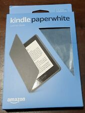NEW Amazon Kindle Paperwhite Blue Leather Cover (10th Generation-2018)