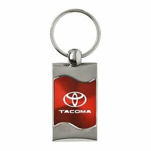 Toyota Tacoma Key Ring Red Wave Keychain